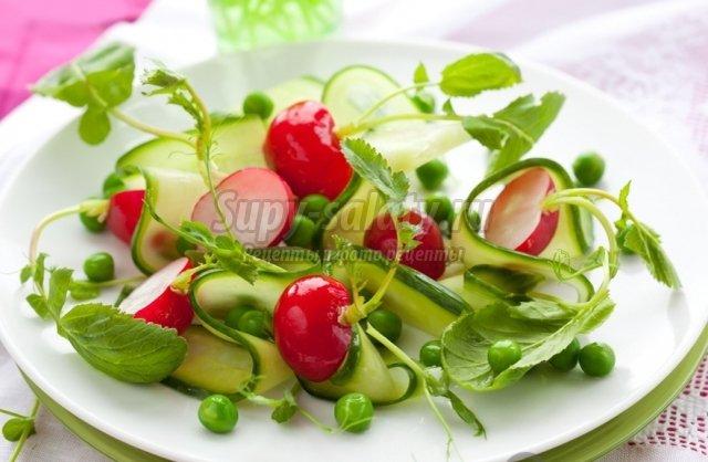салаты постные рецепты с фото