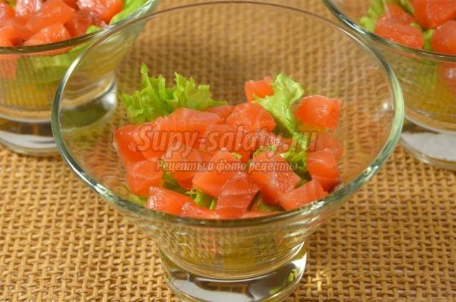 Салат-коктейль пошаговие фото рецепты