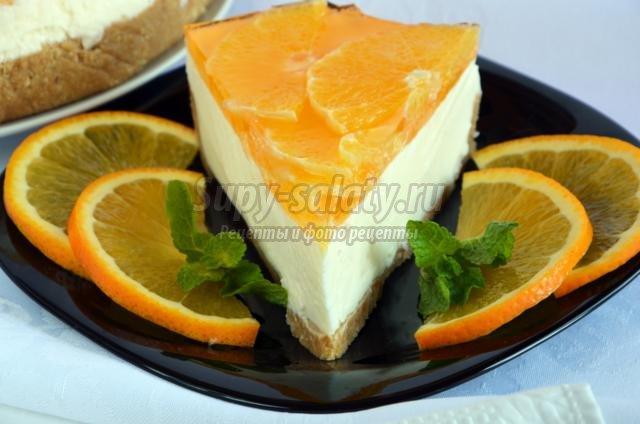 Чизкейк классический с сыром маскарпоне