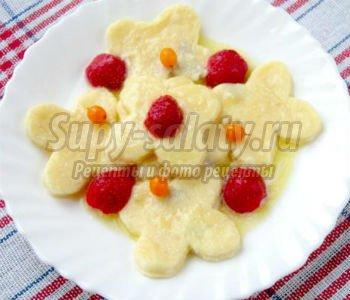 Вареники с творогом и ягодами рецепт 32