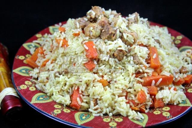 узбекский плов. Рецепт