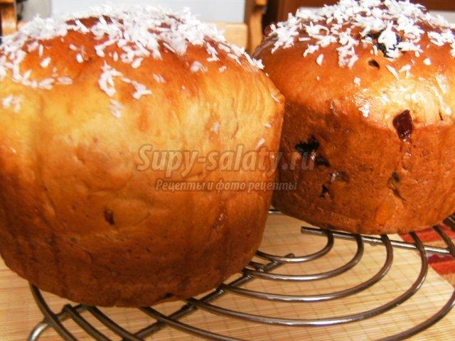 рецепт 2014 кулич в хлебопечке