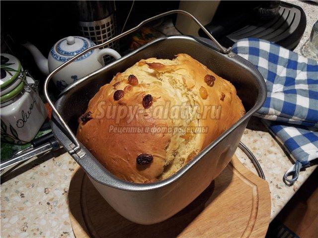Кулич пасхальный в хлебопечке панасоник 2502 рецепты