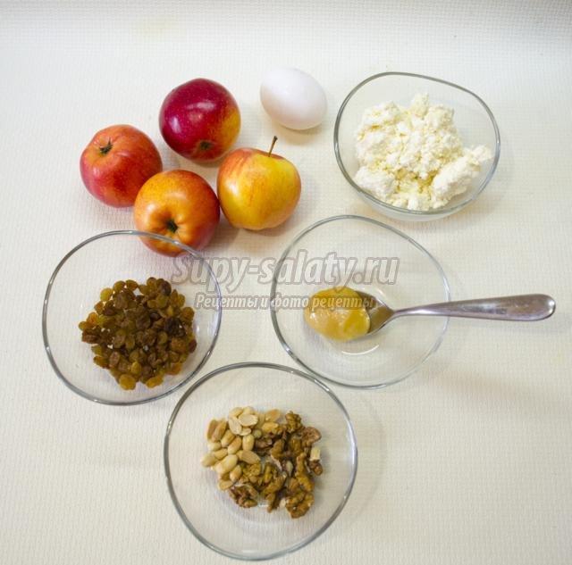 десерты из творога медовые яблоки и запеканка. Вулкан