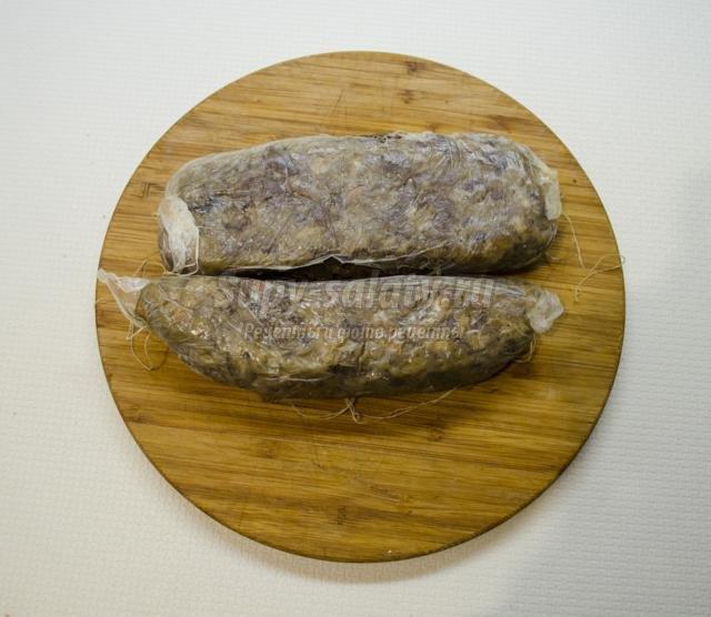 зельц из индюшиной печени к Пасхе