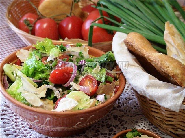 Салат овощной. Лучшие рецепты