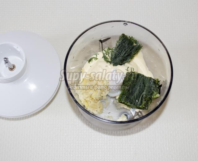 гречаники с тремя соусами