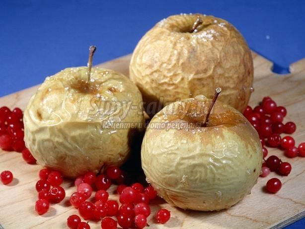 Что таят в себе печёные яблоки?
