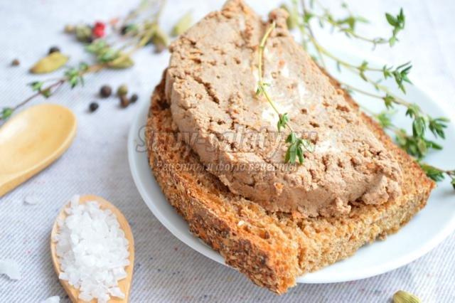 Рецепт печеночного торта из индюшиной печени