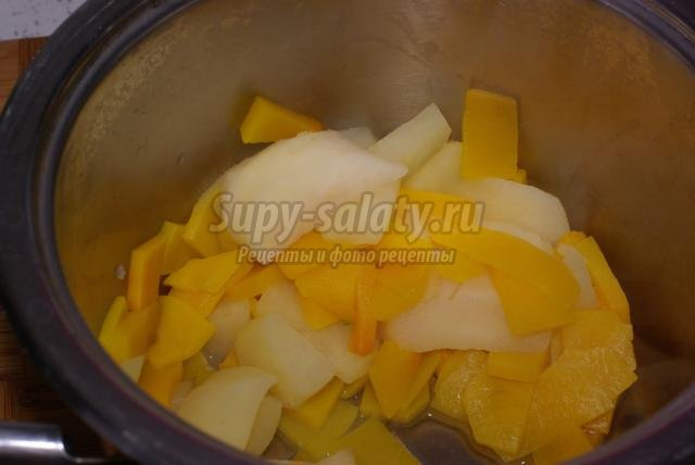 диетическая тыквенно-яблочная запеканка