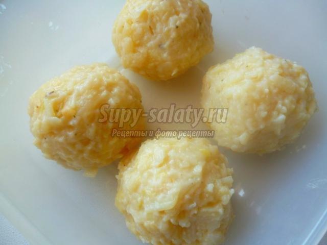 пряные картофельные котлеты с прованскими травами