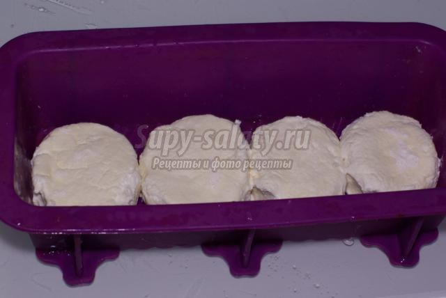 диетические сырники под молочно-ванильным соусом