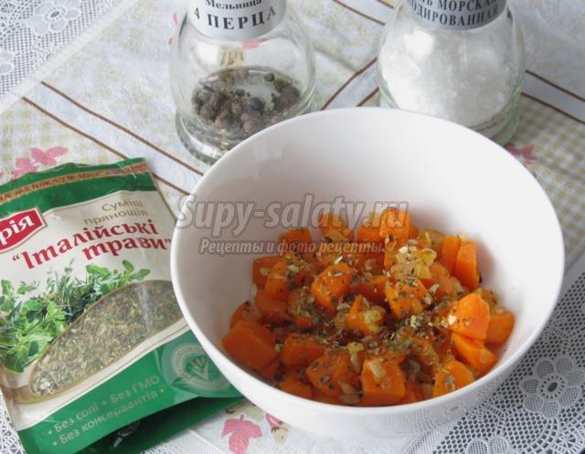 домашние гренки с тыквой