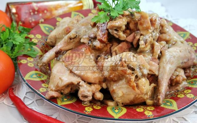 Рецепты блюд с кролика пошагово