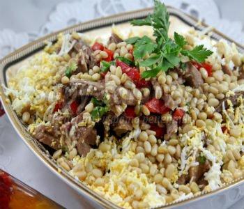 Салат со свиным языком рецепт очень вкусный