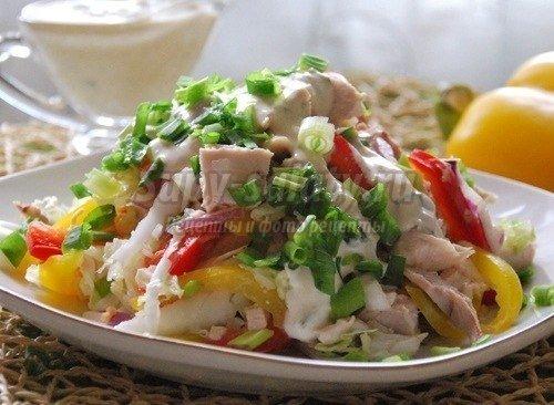 Лучшие рецепты низкокалорийных салатов
