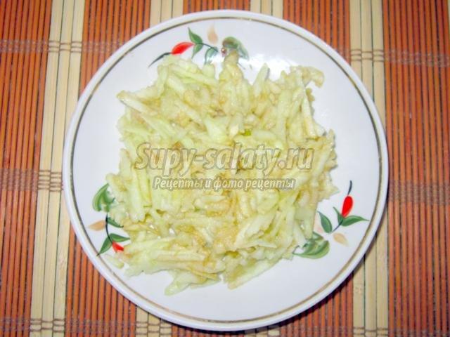 диетический салат из пекинской капусты