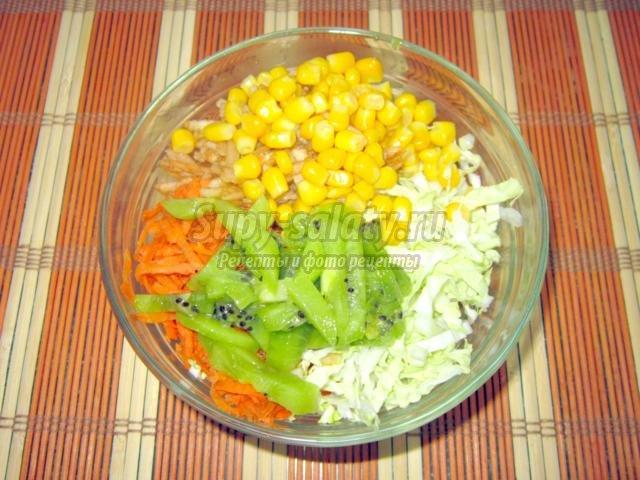 легкий диетический салат