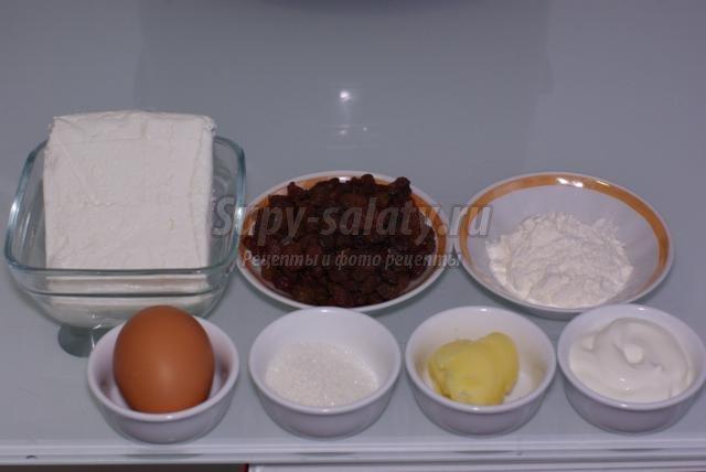 диетические клецки из творога с изюмом