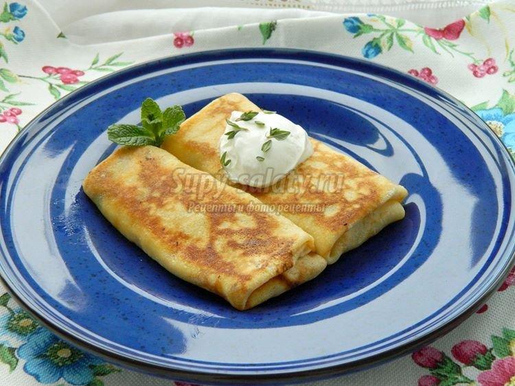 Рецепт начинки для блинов из сыра