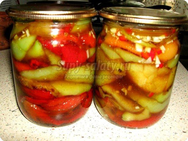 салат из баклажаны на зиму лучшие рецепты