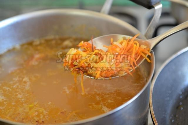 Гороховый суп с куриными ножками рецепт