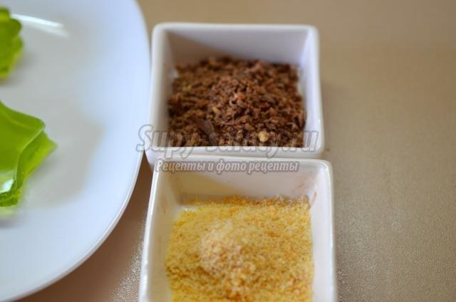 сливочно-апельсиновый десерт