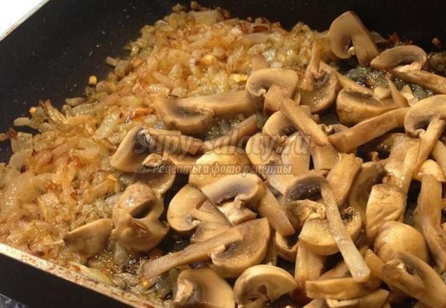 котлеты из капусты с грибами