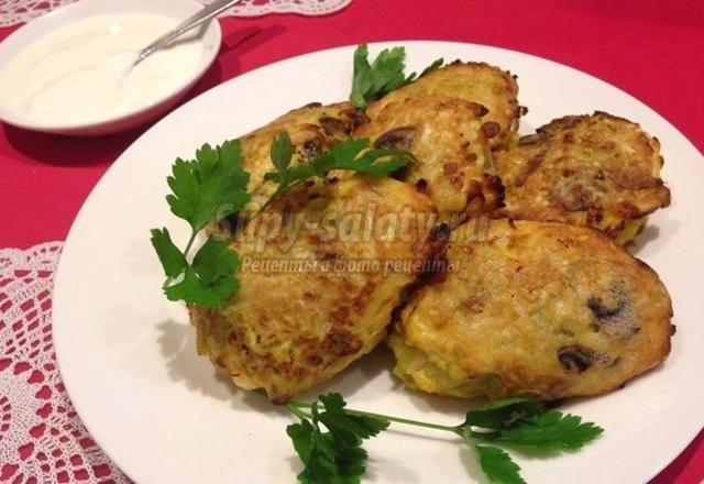 котлеты из капусты с картошкой рецепт с фото