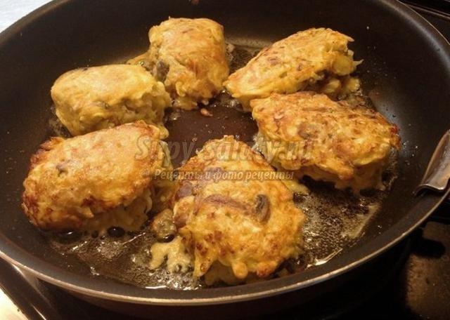 Капустные котлеты рецепт с пошагово на сковороде