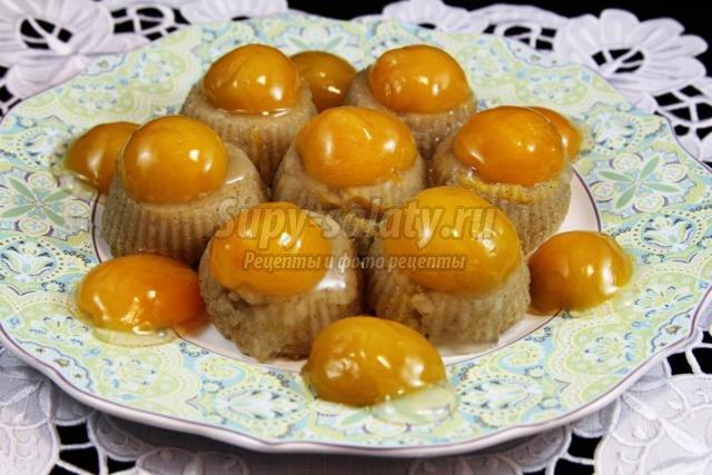 постный пудинг с абрикосами