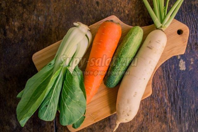 Диетические рецепты салатов из капусты