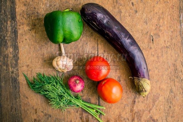 постный овощной горячий микс