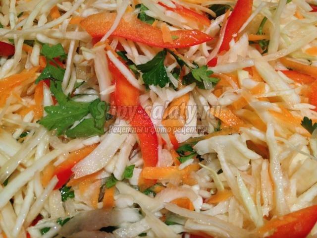Как сделать салат рассол
