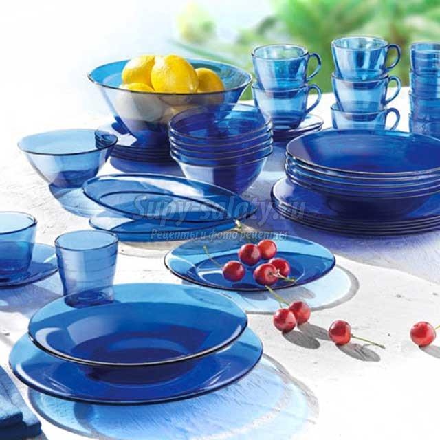 Столовый набор посуды. Полезные советы для покупки