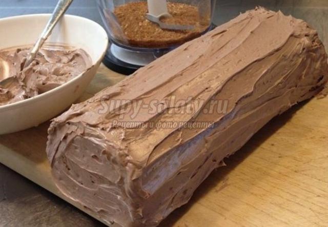Торт-рулет сказка рецепты с фото