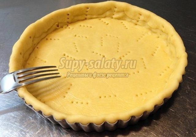 Песочное тесто для мясного пирога рецепт пошагово