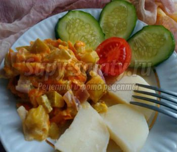 суп с томатной пастой курицей и рисом рецепт