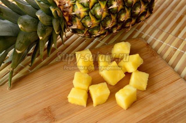 конфеты с ананасом. Спанч Боб