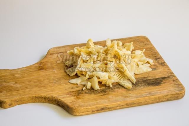 Рецепт грибы постные блюда
