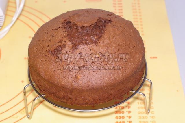 бисквитный торт с мастикой. Балерина