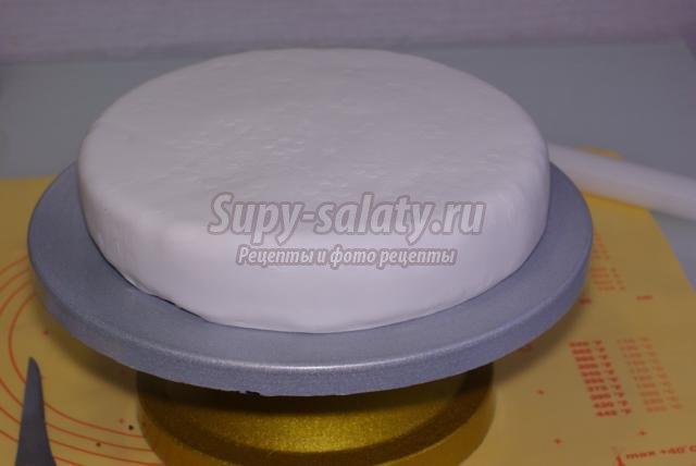 бисквитный торт под мастику рецепт с фото преступления подозреваемые