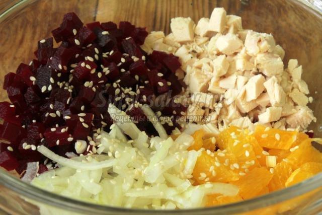 диетический салат из свеклы рецепт с фото очень