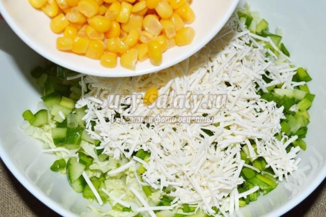 Салат консервированная белая фасоль рецепт с пошагово в