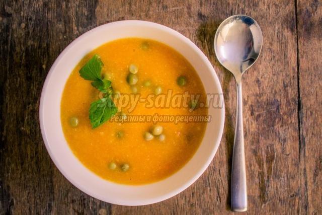Овощной суп рецепт постный из цветной капусты