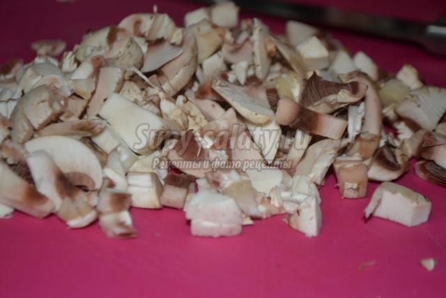 постные чебуреки с гречкой и грибами