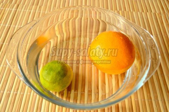 домашние конфеты из апельсина к Пасхе