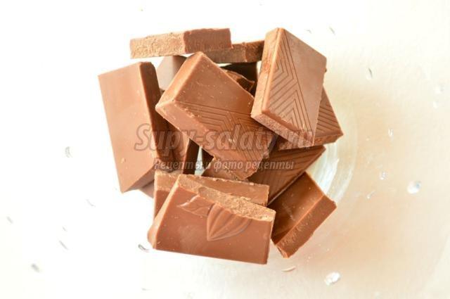домашние шоколадные конфеты. Апельсиновый сюрприз