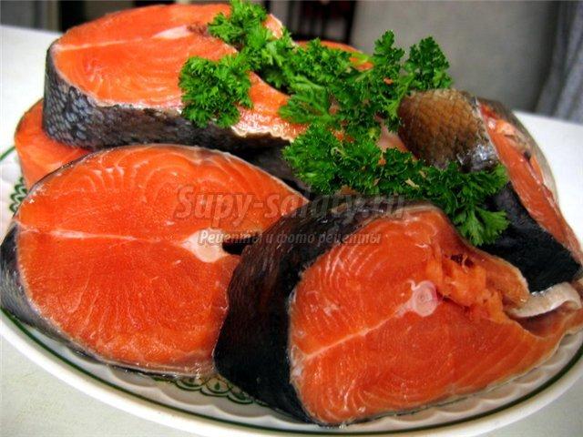 как приготовить красную рыбу. Популярные рецепты