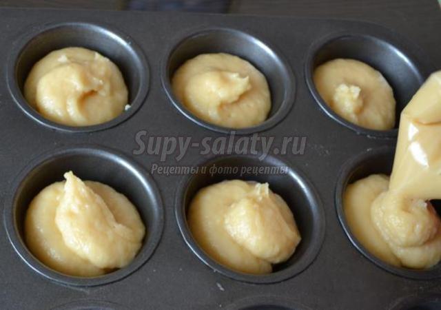 Эклеры рецепт крема с пошагово